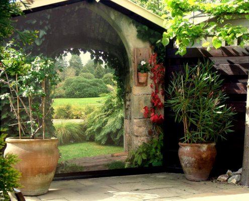 Gartenposter ohne Rahmen b1