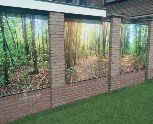 Gartenposter ohne Rahmen nach Maß vb6