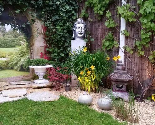 Gartenbanner Gartenposter beispiel 998