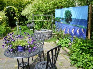 Gartenposter ohne Rahmen Standardformate vb1