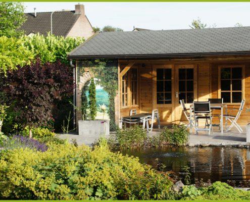 Gartenbanner Gartenposter beispiel1.1