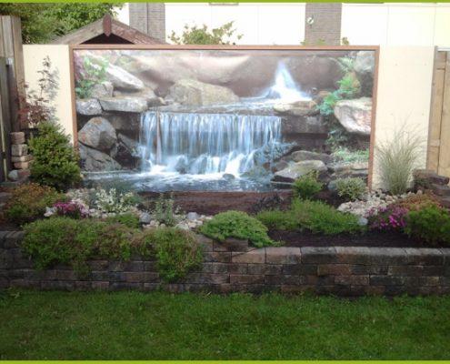 Gartenbanner Gartenposter beispiel10