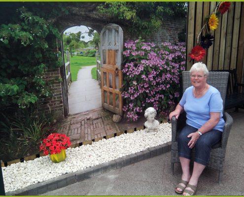 Gartenbanner Gartenposter beispiel114