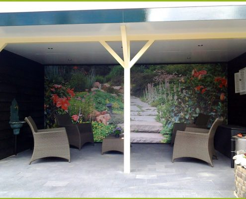 Gartenbanner Gartenposter beispiel119