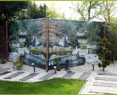 Gartenbanner Gartenposter beispiel63