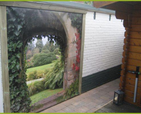 Gartenbanner Gartenposter beispiel64
