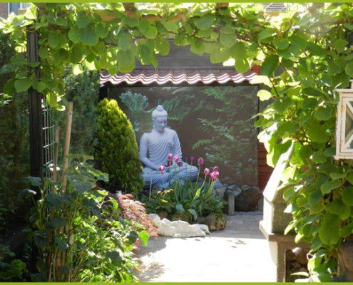 Gartenbanner Gartenposter beispiel71