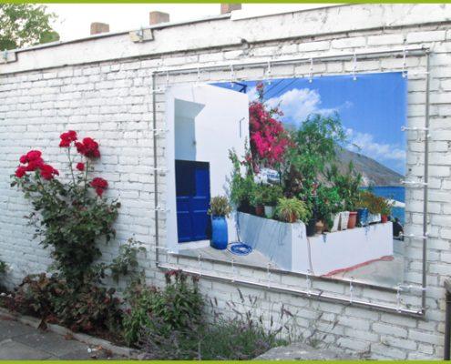 Gartenbanner Gartenposter beispiel81