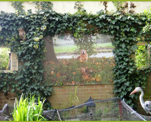 Gartenbanner Gartenposter beispiel89