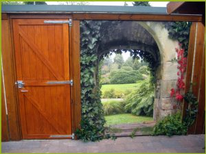 Gartenposter ohne Rahmen nach Maß vb2