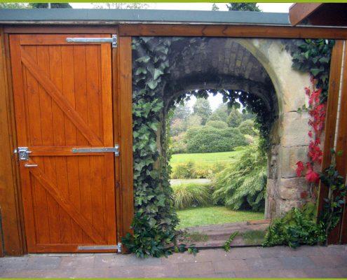 Gartenbanner Gartenposter beispiel98