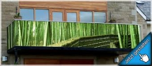 Balkon sichtschutz -1