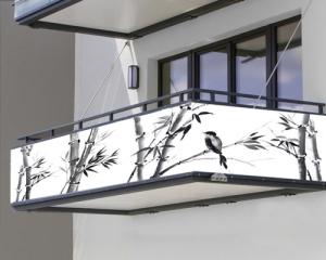 Balkon sichtschutz -2