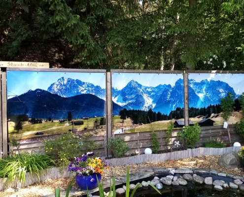 GartenBanner Beispiele Bergen